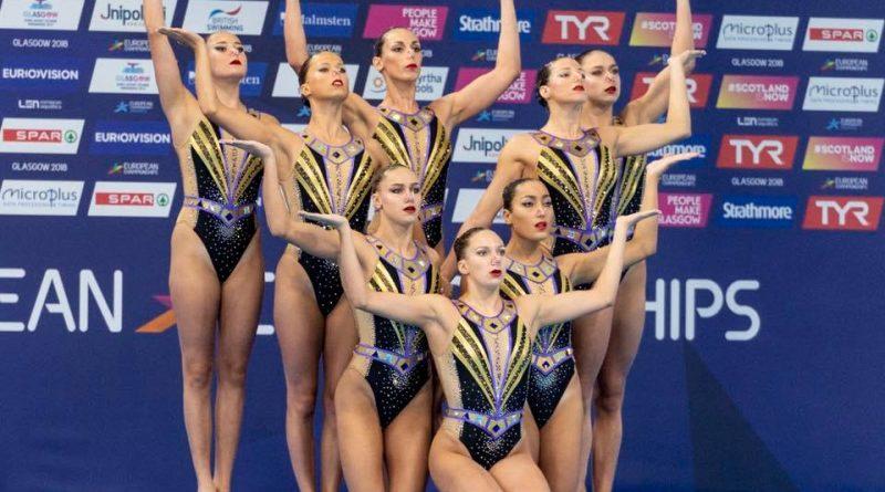 L'équipe de France aux Championnats d'Europe à Glasgow