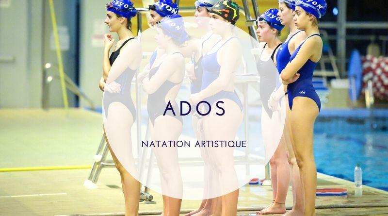 Natation artistique 12-17 ans